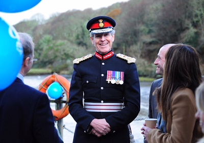 Lord Lieutenant Presents Queens Award For Enterprise To Cornish Sea Salt